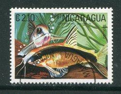 NICARAGUA- Y&T N°1160D- Oblitéré (poisson) - Nicaragua