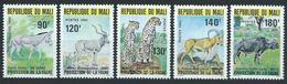 Mali YT 359-363 XX / MNH Animal Wildlife - Mali (1959-...)