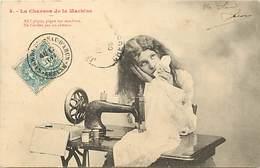 -ref-B178- Metiers - Couture - Couturiere - Couturieres - Chanson De La Machine A Coudre N°4 - Machines A Coudre - - Artisanat