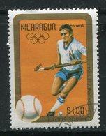 NICARAGUA- Y&T N°1344- Oblitéré (hockey) - Nicaragua