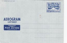 E.P. Aérogramme ISLANDE - Enveloppe Vierge - Entiers Postaux