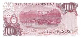 ARGENTINA P. 302a 100 P 1976 UNC - Argentine