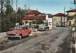 Drome : MANTHES-en-VALLOIRE : Un Coin Du Village - Belles Automobiles - Simca - ( Grand Format - Photo Vérit. ) - Otros Municipios