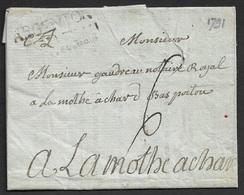 1791 - LAC - ARGENTON LE CHATEAU - (Deux-Sèvres). Ind. 13 - Marcophilie (Lettres)