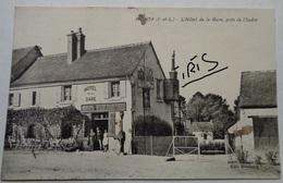 CPA-B053 - MONTS - L'HOTEL DE LA GARE PRES DE L'INDRE - Autres Communes