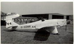 MILES  HAWK MAJOR 1951 HENDON     14 * 9 CM Aviation, AIRPLAIN, AVION AIRCRAFT - Aviation