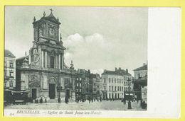 * Sint Joost Ten Node - Saint Josse (Bruxelles) * (Th. Van Den Heuvel, Nr 114) église De St Josse, Tram, Vicinal, TOP - St-Josse-ten-Noode - St-Joost-ten-Node