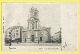 * Sint Joost Ten Node - Saint Josse (Bruxelles) * (Nels, Série 1, Nr 70) église De St Josse Ten Noode, Old, Rare, Kerk - St-Josse-ten-Noode - St-Joost-ten-Node