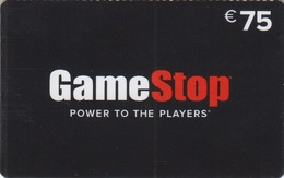 Gift Card Italy GameStop Power To The Players - Gift Cards