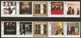 Île De Man 2009 Yvertn° 1572-1579 *** MNH   Cote 20 Euro LMusique Les Bee Gees - Man (Ile De)