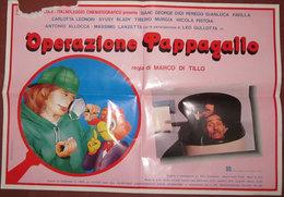 LOCANDINA FILM OPERAZIONE PAPPAGALLO - Manifesti & Poster