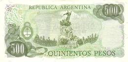 ARGENTINA P. 303c 500 P 1977 UNC - Argentine
