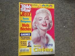 Cover Marilyn Monroe, 2001, Télé Star Jeux (neuf Non Utilisé - Fernsehen