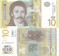 Serbia 10 Dinara 2006. UNC AA Prefix - Serbie