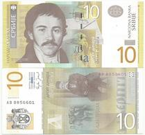Serbia 10 Dinara 2006. UNC AB Prefix - Serbie