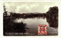 Carte  Postale  Ancienne De Le JOURDAIN - Jordanie