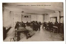 37  CP  LA MEMBROLLE  Sanatorium De Bel Air, Salle De Jeux  4180 - France