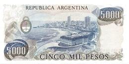 ARGENTINA P. 305b 5000 P 1983 UNC - Argentina