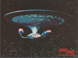 Star Trek - The Next Generation - USS Enterprise, 1989 - Engale Postcard - TV Series