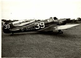 MILES M11A WHITNEY STRAIGHT DH GIPSY MAJOR 1  21 * 16 CM Aviation, AIRPLAIN, AVION AIRCRAFT - Aviation