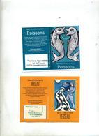 Calendrier De Poche 2011/2013 Laboratoire Hartmann Signe Verseau Poissons - Small : 2001-...