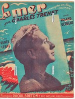 La Mer - CHARLES TRENET - Partitions Musicales Anciennes