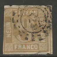 Bavaria - 1850-8 Numeral 9k Yellowish-brown Used    SG 28 - Bavaria