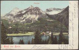 Gruss Aus Arosa, Obersee, Graubünden, 1903 - Künzli AK - GR Grisons