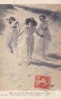 """64.CARTE FANTAISIE.CPA. VERS L'AMOUR PAR P. CARRIER BELLEUSE. POÈME """" PELERINAGE DE ROSEMONDE ROSTAND AU DOS ANNÉE 1910 - Femmes Célèbres"""