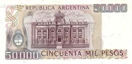 ARGENTINA P. 307 50000 P 1979 UNC - Argentinië