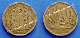 SOUTH AFRICA SUID AFRIKA 50 Cents 1992 STRELITZIA PLANT - South Africa