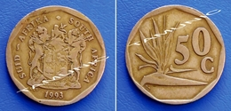 SOUTH AFRICA SUID AFRIKA 50 Cents 1993 STRELITZIA PLANT - South Africa