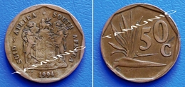 SOUTH AFRICA SUID AFRIKA 50 Cents 1994 STRELITZIA PLANT - South Africa
