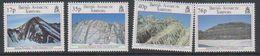 British Antarctic Territory (BAT) 1995 Geological Structures 4v ** Mnh (41640A) - Brits Antarctisch Territorium  (BAT)