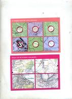 2 Carte  Geometre Suisse Paradis  Secret - Autres