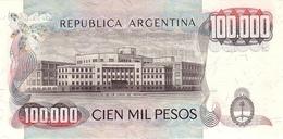 ARGENTINA P. 308b 100000 P 1983 UNC - Argentine