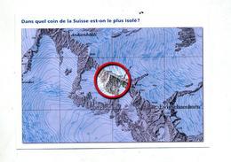 Carte  Geometre Suisse Point Plus Isolé - Autres
