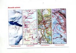Carte  Geometre Suisse Record - Autres