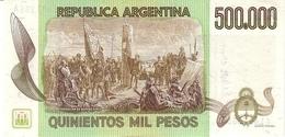 ARGENTINA P. 309 500.000 P 1983 UNC - Argentine