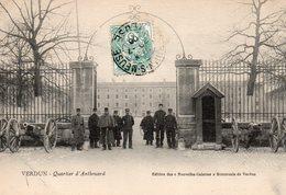 9885. CPA 55 VERDUN. QUARTIER D'ANTHOUARD - Verdun