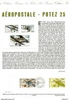 AEROPOSTALE  - POTEZ 25    N° PA 62    Obltéré   1ier Jour    13/07/1998 - Airmail
