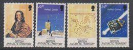 British Antarctic Territory (BAT) 1986 Halley's Comet  4v ** Mnh (41641) - Ongebruikt