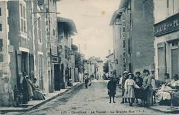 I14 - 38 - LE TOUVET - Isère - La Grande Rue - Café De La Place - Other Municipalities