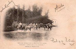 9888. CPA 89 CACHET PONT-SUR-YONNE. ...EXTRAIT DES 150 CARTES...SCENES DE LA VIE MILITAIRE 1906 - Pont Sur Yonne