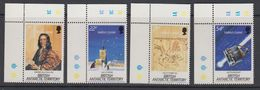 British Antarctic Territory (BAT) 1986 Halley's Comet  4v (corner) ** Mnh (41641B) - Brits Antarctisch Territorium  (BAT)