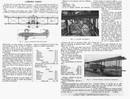 """L'AEROBUS """" FARMAN """"  1919 - Transport"""