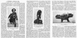 """LE FETICHISME à TRAVERS LES AGES  """" LES GRANDES IDOLES à CLOUS Des NEGRES Du LOANGO """"  1916 - African Art"""