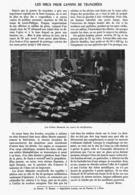 LES OBUS Pour CANONS De TRANCHéES  1916 - 1914-18