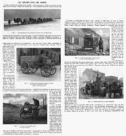 LES VOITURES D'EAU DES ARMéES   1916 - Transport