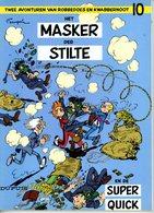 Robbedoes En Kwabbernoot - Het Masker Der Stilte (1988) - Robbedoes En Kwabbernoot